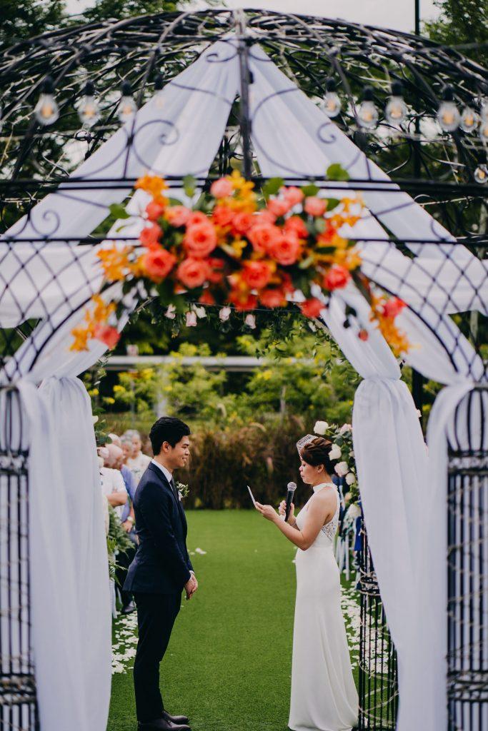 summerhouse wedding