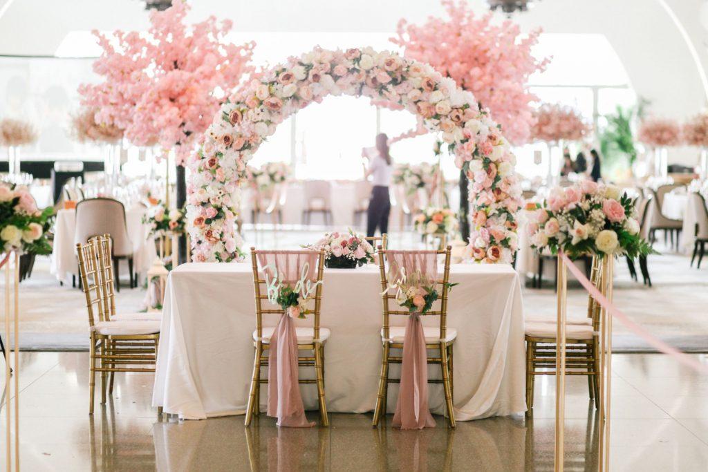 Clifford pier wedding