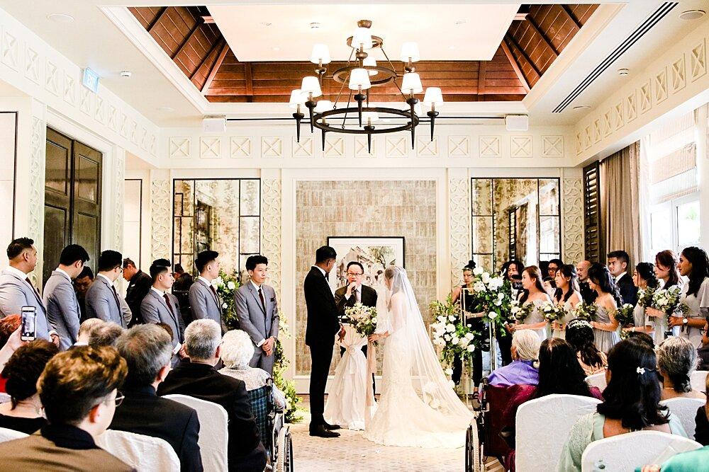 shangri la wedding Singapore